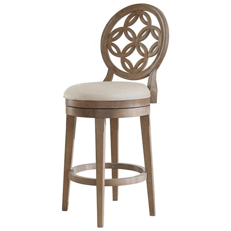 Counter Height Swivel Bar Stool Hillsdale Wood Stools 5851 827 Swivel Counter Height Stool Great American Home Bar Stools
