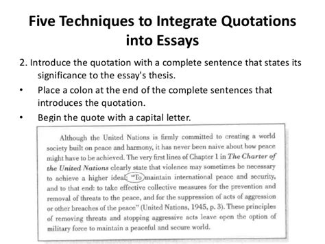 Quotes Essay by Paraphrasing Summarizing And Quoting Information