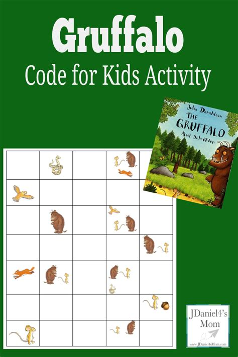 activity for code activity for gruffalo coding sheet