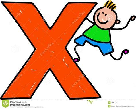 So X letter x boy stock photo image 3992230