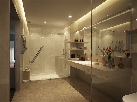 open shower designs open glass bathroom design interior design ideas