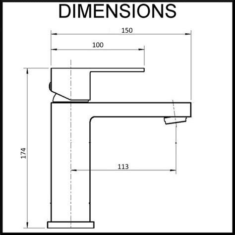 bathroom basin dimensions bathroom essato basin mixer single lever square chrome
