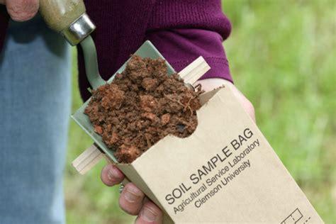 soil testing home garden information center