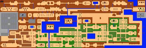 legend of zelda map level 1 zelda capital maps of hyrule