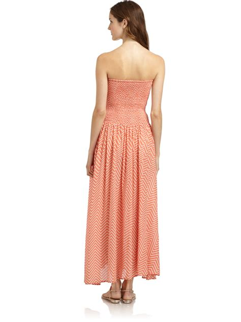 Zigy Maxi connection ziggy maxi dress in pink lyst