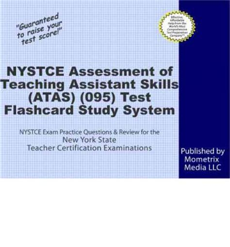 nystce assessment of teaching assistant skills atas 095 test flashcard study system
