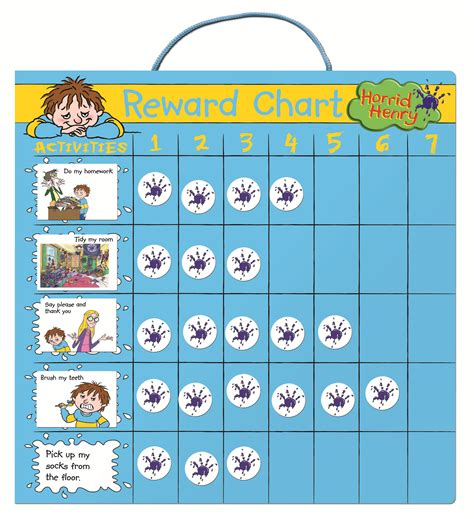 printable reward charts for good behavior reward chart for teenagers colorful loving printable
