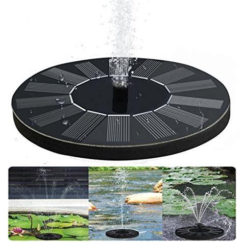 solar springbrunnen für garten garten brunnen dekor