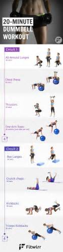 20 minute dumbbell workout routine for