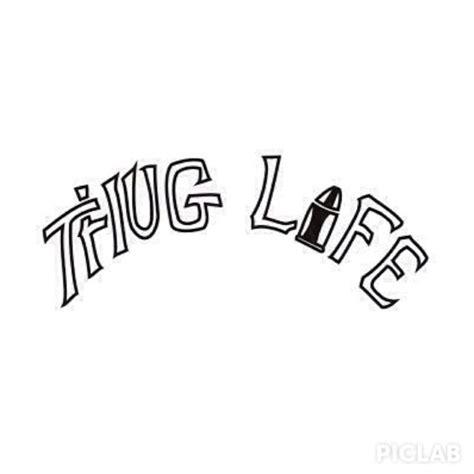 tupac thug life tattoo tupac clipart thug