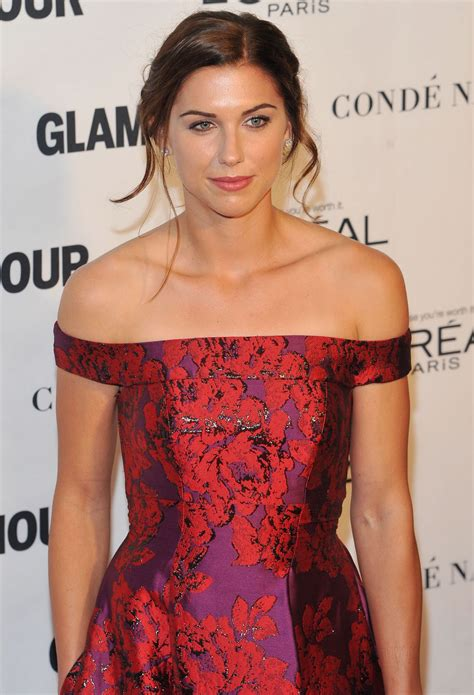 alex morgan alex morgan 2015 glamour women of the year awards in new