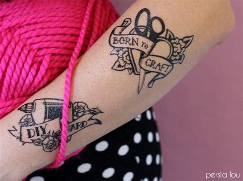 temporary tattoo maker online diy maker tattoos persia lou