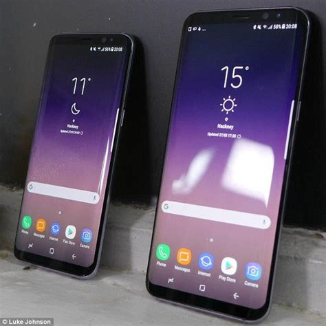 Samsung S8 S8 samsung galaxy s8 will ship without bixby voice assistant daily mail