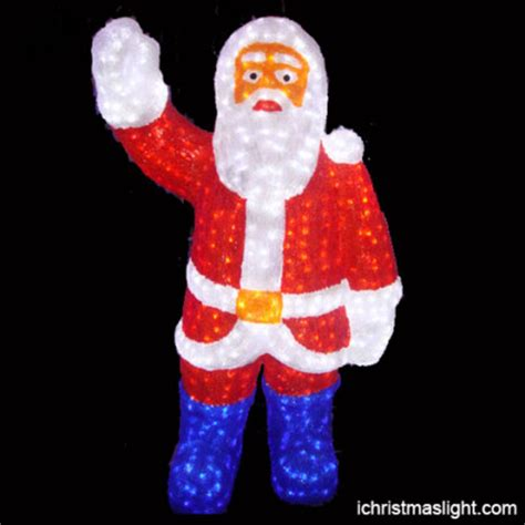 Outdoor Lighted Santa Claus Size Led Santa Claus For Outdoor Use Ichristmaslight