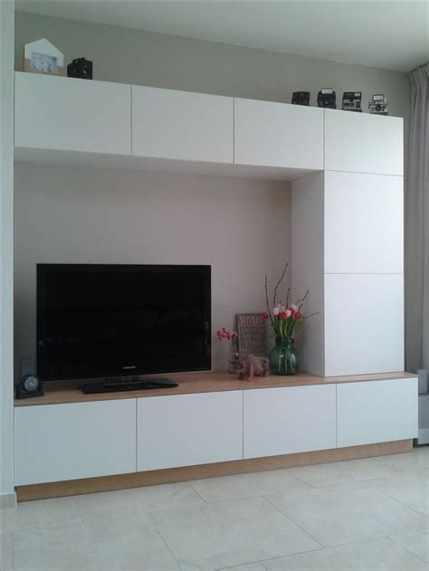 Besta Tv Wall Unit Ikea Hack Besta We Made A Customized Entertainment Wall