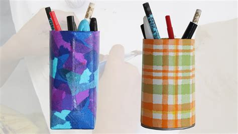 More Pencil Holder Craft Ideas For