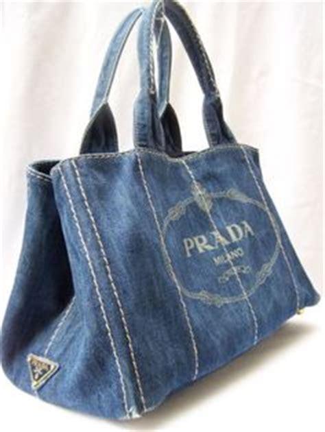 Celana Denim Pradaa Sleting denim on recycled denim and denim bag