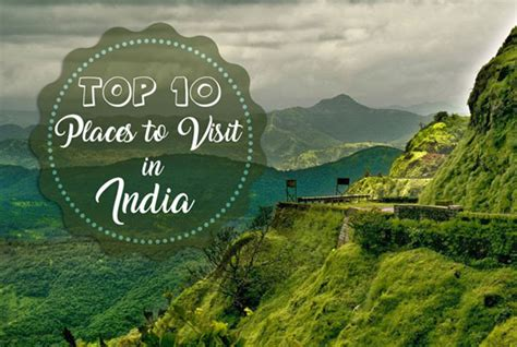 top  places  visit  india paras holidays