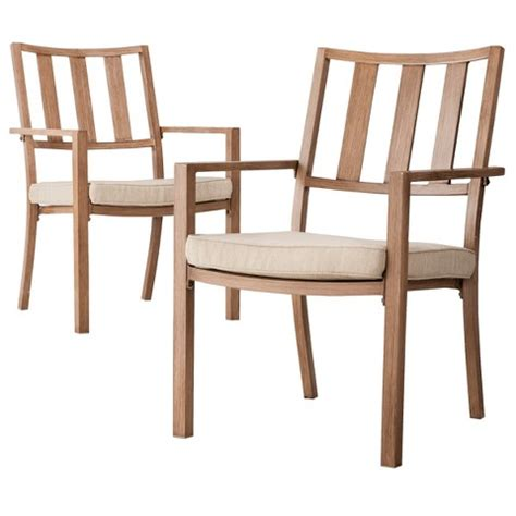 Threshold Holden 2 Piece Metal Patio Dining Cha Target Target Outdoor Dining Chairs