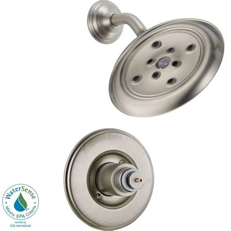 Delta Shower Faucets With Sprays by Delta 1 Handle 3 Spray Shower Faucet Trim Kit In