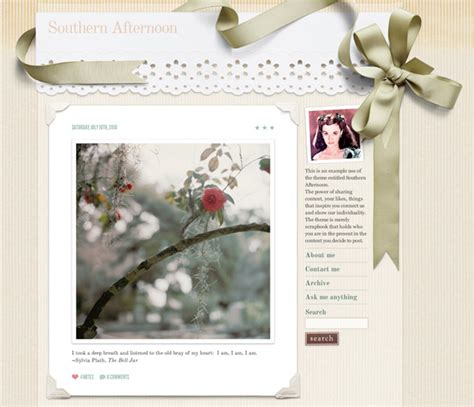 themes for tumblr new ann street studio blog theme designed from me to you