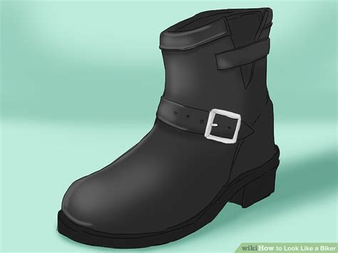 motorcycle boots that look like shoes how to look like a biker 11 steps with pictures wikihow
