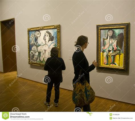 picasso paintings exhibition albertina gallery picasso exhibition editorial stock photo