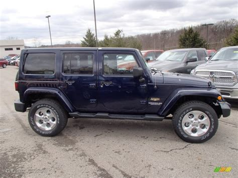 navy blue jeep wrangler unlimited 2013 true blue pearl jeep wrangler unlimited 4x4
