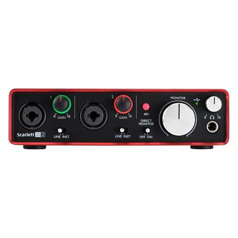 focusrite 2i2 best buy best buy focusrite 2i2 usb audio interface