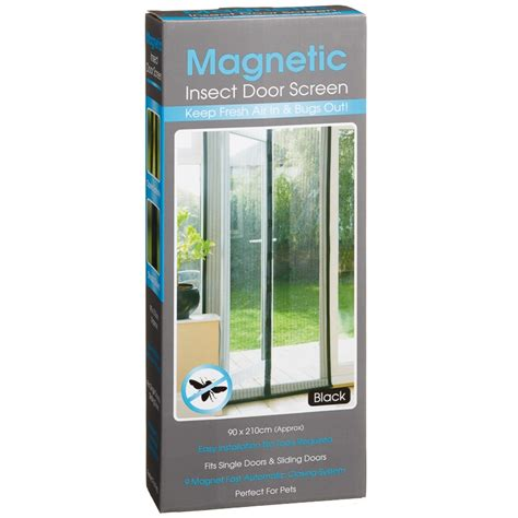 Magnetic Insect Screen Minimalis magnetic insect door screen garden accessories b m