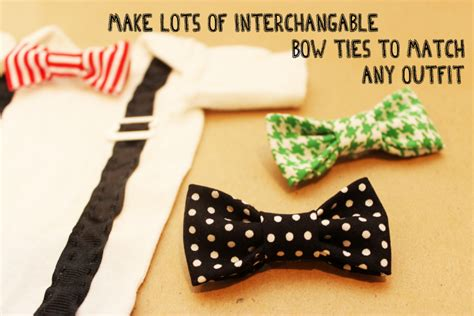 diy baby onesie with a bow tie free card template diy onesie the shower diy how to make a tie