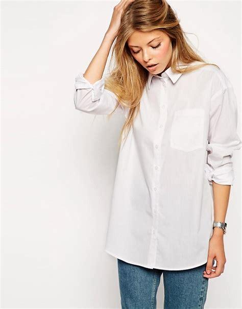 Boyfriend White white boyfriend shirt artee shirt