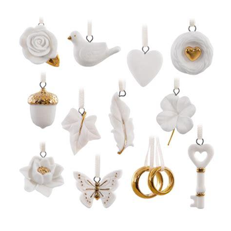 wedding ornament set 2016 wedding wishes ornament set hallmark keepsake