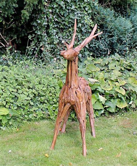 reindeer garden ornament