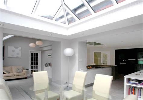 Open Kitchen Living Room Design Conservatories Orangeries Roof Lanterns Hardwood