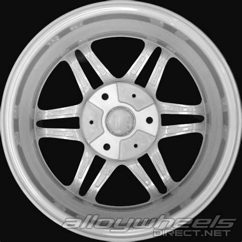 Smart Wheel Mono Wheel D 04 17 quot smart brabus mono vii wheels in silver polished surface alloy wheels direct 1321072