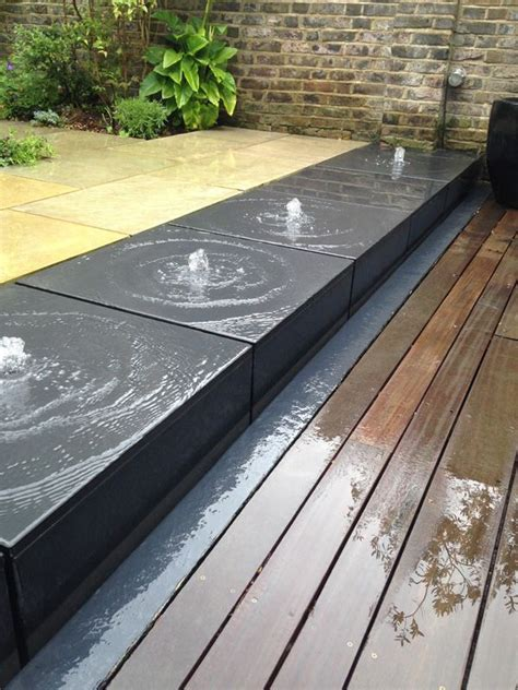 modern water feature 42 best backyard water features images on pinterest