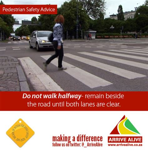 road safety pedestrian distractions while walking in traffic