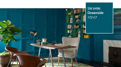sherwin williams oceanside 2018 color of the year 2018 must know paint color trends with one surprise blu