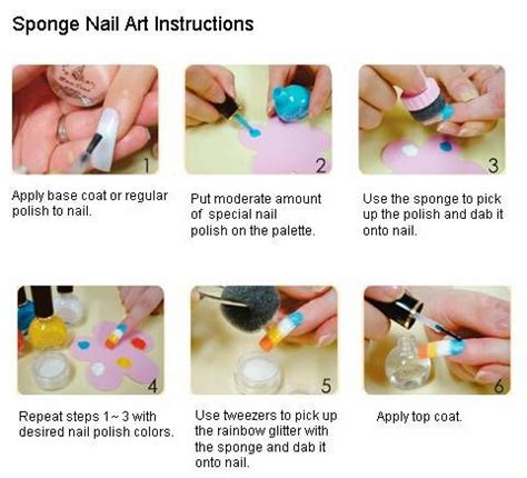 How To Use Sponge Nail how to use sponge on nail nail freak nail