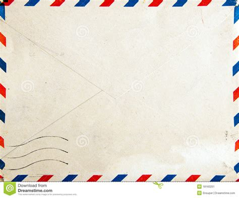 air background paper template retro air mail post envelope stock image image 18160251