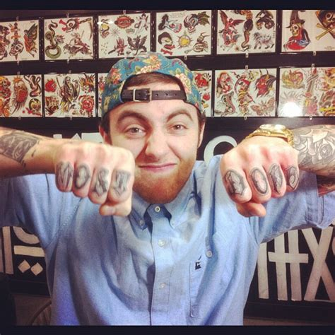 mac miller tattoo dope tattoos part 3