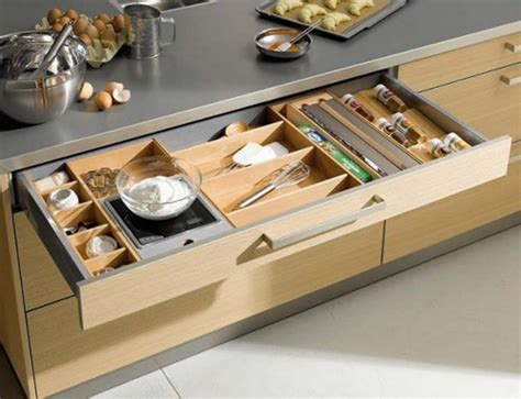 kitchen drawer organizer ideas 35 functional kitchen cabinet with drawer storage ideas