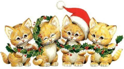 ruth morehead christmas kitten