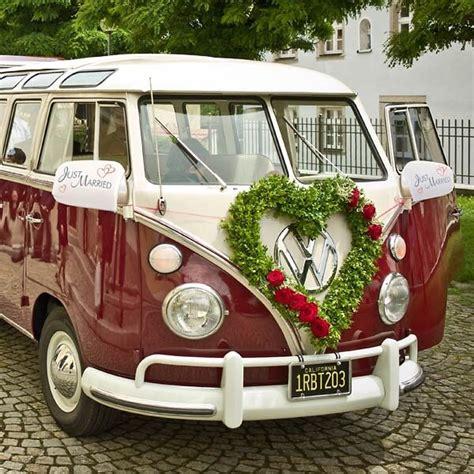 Just Married Autodeko by Autobikini Quot Just Married Quot Autodeko Zur Hochzeit Weddix De