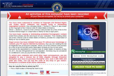 Criminal Record Deletion Remove Fbi Ransomware Virus Pay To Delete Your Criminal