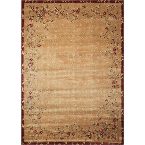 Area Rugs Overstock Nourison Overstock Cambridge Beige 7 Ft 9 In X 10 Ft 10 In Area Rug 019608 The Home Depot