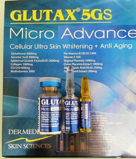 glutax 5gs micro advance all health and metro