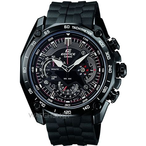 Casio Edifice Ef 550 1avdf Silver Black s casio edifice chronograph ef 550pb 1avdf shop com