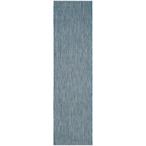 navy and gray rug safavieh courtyard navy gray 2 ft 3 in x 8 ft indoor outdoor runner area rug cy8022 36821 28
